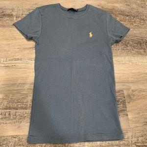 NWOT: Ralph Lauren stretchy cotton blue t shirt